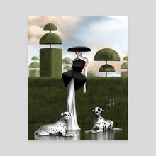 Cruella  - Canvas by Introvertdoesart