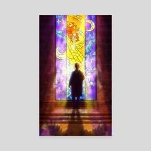 Angel - Canvas by J Zeten