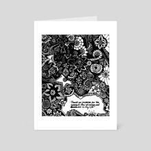 Universal Mantra  - Art Card by Michele  Girgenti
