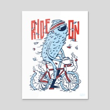 Ride On - Acrylic by Greg Abbott