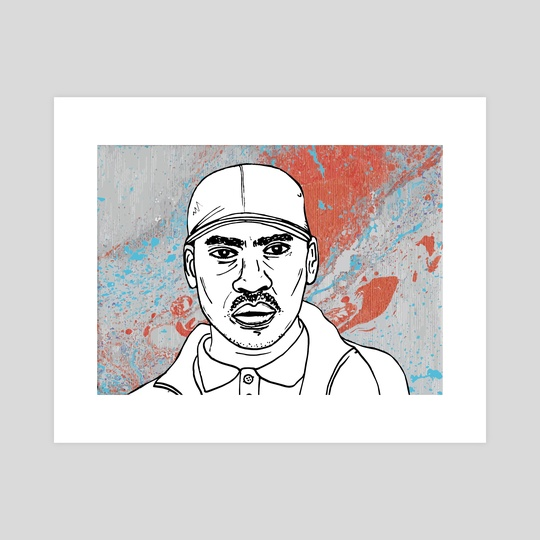 Skepta by Sam Haidemenos