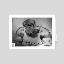 Arnold - Art Card by Kamlekar Vivek
