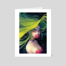 Voiceless Mermaid - Art Card by Mioree .