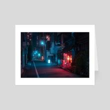 Red Lantern - Art Card by Matthieu Buehler