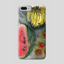 Tropical fruit - Phone Case by Irina Fominykh