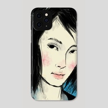 Lady - Phone Case by Bryan Liew