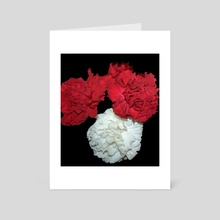 Flowers 4 - Art Card by Work of Art Studios