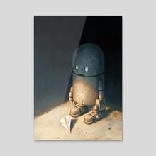 An Offering - Acrylic by Matt Dixon