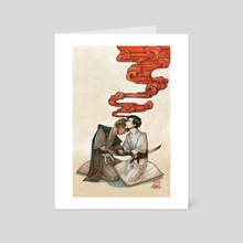 Kaishakunin - Art Card by Grace Fong