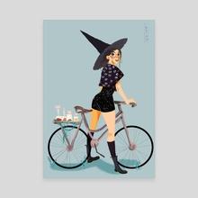Witchsona I - Canvas by Khanh-Ngoc Tran