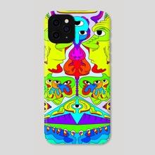 Cherubim - Phone Case by Alberto Carlos  Montana  © ( ͡° ʖ̯ ͡°)