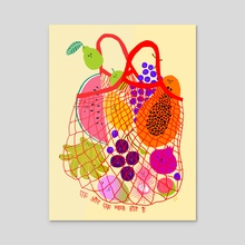 Inclusive Groceries III - Acrylic by Subin Yang