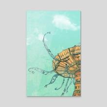 La Musica - Acrylic by Annee Schwank