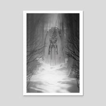 Standing Stone - Acrylic by Adam Schumpert
