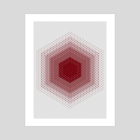 Red Hex by Deli Bobs