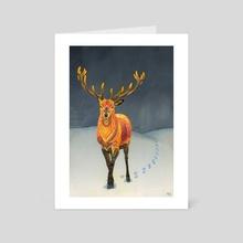Midwinter - Art Card by Zanna Field