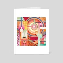self-destruct - Art Card by Ygor Dimas