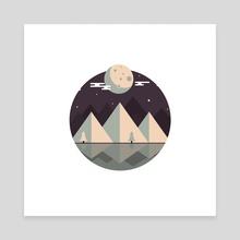 Midnight - Canvas by Vectoria :  visually vectorized