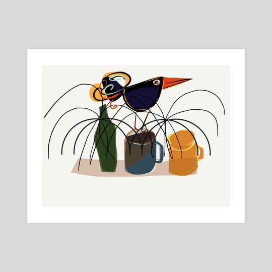 The bouncing bird by Laura Chemello