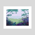 Forest - Art Print by Itho