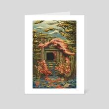 Temple of Forgotten Prayers - Art Card by Eric Clark
