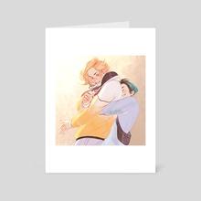 Hug - Art Card by VikConder