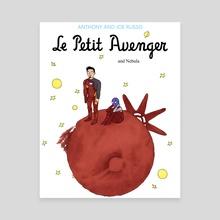 Le Petit Avenger - Canvas by Barbara Hudeczek