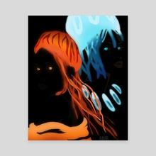 Glow  - Canvas by Amir Williams