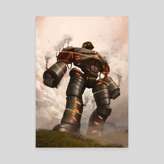 Darksteel Titan by Robert  Schneider