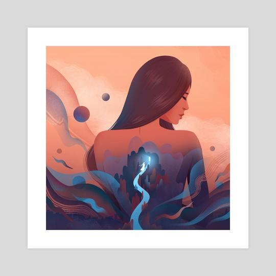 Self exploration by Anna Kuptsova