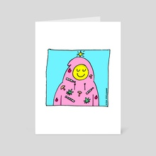 Feeling Festive - Art Card by High Smileson