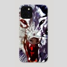 Wolf Face - Phone Case by Emanuele Califano Lidak