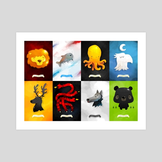 Game of Thrones Sigils by Renaud Forestié