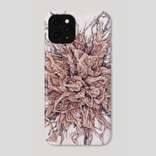 Brittle Id - Phone Case by Aedan Roberts