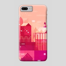Pink City - Phone Case by Tracy Lee