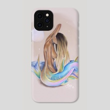 Moonlight Mermaid  - Phone Case by elyse lauthier