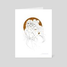 Sensuality - Art Card by Myrmidia