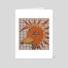 Punky Ducky - Art Card by Sarah Blakeman