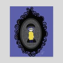 Coraline through a Peephole. - Canvas by KaleChip  :$