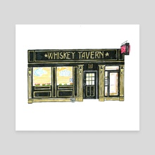 Whiskey Tavern - Canvas by Joel Holland