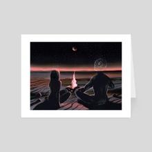 Where Faith Begins - Art Card by Miko