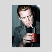 Josh Homme - Canvas by Magdalena Milert
