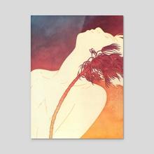 Gust - Acrylic by Julian Callos