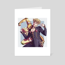 GIO GIO (ft. GOLD EXPERIENCE) v2 - Art Card by GARRID