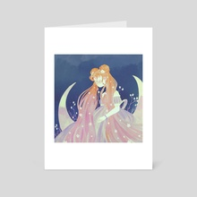 princess serenity - Art Card by Cinnamoonie ♡