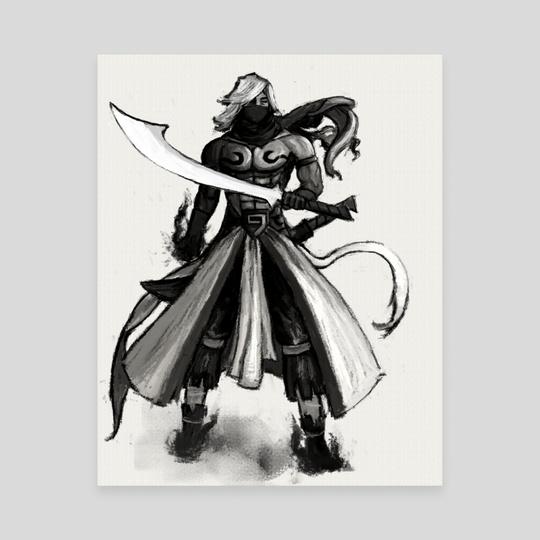 Sword Sage by John Poh