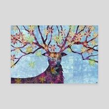 Spring - Canvas by Skygrafiks Art
