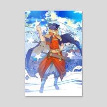 Dr Stone Ryusui Ships - Acrylic by Manga Lover