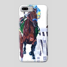 American Pharoah - Phone Case by Katie Bratcher