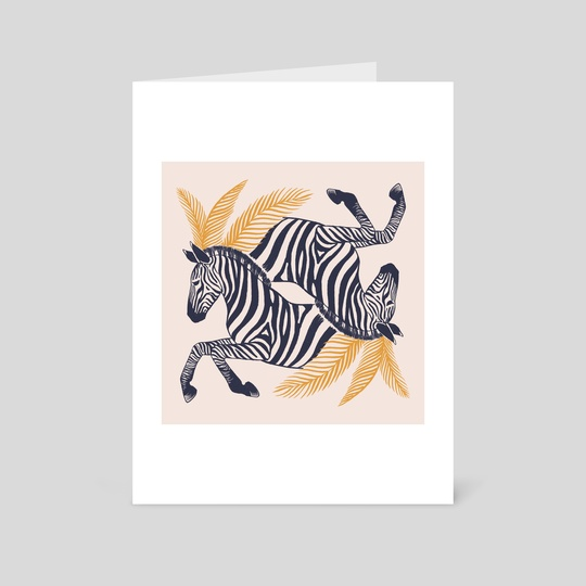 Zebras by Ash Weaver